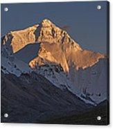 Mount Everest At Dusk Acrylic Print