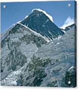 Mount Everest Morning Acrylic Print