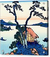 Mount Fuji Tranquility Acrylic Print