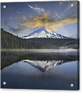 Mount Hood At Trillium One Early Morning Acrylic Print