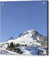 Mount Hood Oregon Panorama Acrylic Print