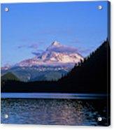 Mount Hoods Looms Over Lost Lake  Hood Acrylic Print