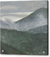 Mount Judea Acrylic Print by Garry McMichael