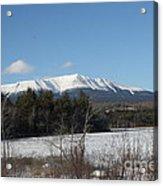 Mount Katahdin Winter 3 Acrylic Print