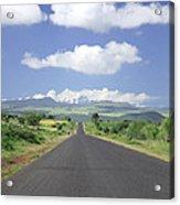 Mount Kenya Acrylic Print