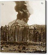 Mount Lassen Volcano California 1914 Acrylic Print