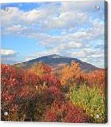 Mount Monadnock From Gap Mountain In Autumn Acrylic Print