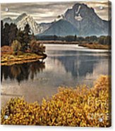 Mount Moran Acrylic Print
