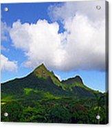 Mount Olomana Hawaii Acrylic Print