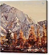 Mount Olympus Acrylic Print