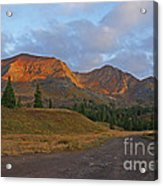 Mount Owen Sunrise Acrylic Print