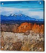 Mount Princeton Acrylic Print