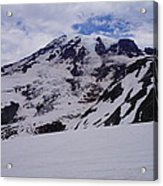 Mount Rainer In The Clouds Acrylic Print