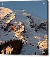 Mount Rainier Alpenglow Acrylic Print