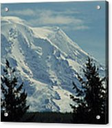 Mount Rainier From Patterson Road Acrylic Print