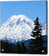 Mount Rainier Panorama Acrylic Print