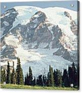 Mount Rainier Peak Acrylic Print