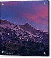 Mount Rainier Sunrise Acrylic Print