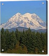 Mount Rainier Washington Acrylic Print