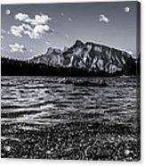 Mount Rundle @ Two Jacks  Acrylic Print