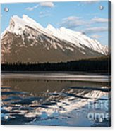 Mount Rundle Reflections Acrylic Print