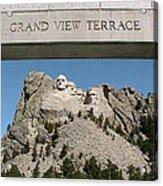 Mount Rushmore 3 Acrylic Print
