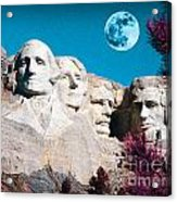 Mount Rushmore In South Dakota Acrylic Print