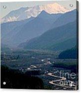 Mount Saint Helens Valley  Acrylic Print