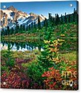 Mount Shuksan Fall Cornucopia Acrylic Print