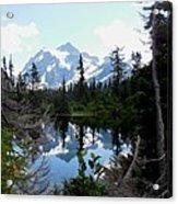 Mount Shuksan Reflection Acrylic Print