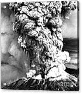 Mount St Helens Eruption Acrylic Print