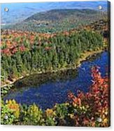 Mount Sunapee Lake Solitude Fall Foliage Acrylic Print
