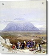 Mount Tabor Acrylic Print