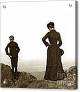 Mount Tamalpais Marin County California Circa 1902 Acrylic Print