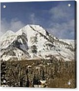 Mount Timpanogos Panorama Acrylic Print