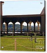 Mount Vernon Colonnade Acrylic Print