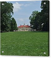 Mount Vernon In May Acrylic Print
