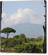 Mount Vesuvius Acrylic Print
