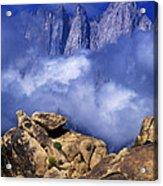 Mount Whitney Alabama Hills California Acrylic Print
