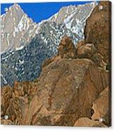 Mount Whitney, Lone Pine, California Acrylic Print