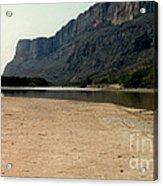 Mountain At Big Bend Acrylic Print