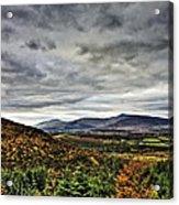 Mountain At The Windy Gap Acrylic Print by Tony Reddington