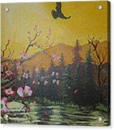 Mountain Bliss Acrylic Print