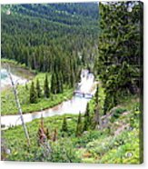 Mountain Bridge Acrylic Print