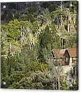 Mountain Cabin - Sierra Nevadas, California Usa Acrylic Print