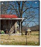 Mountain Cabin In Tennessee 2 Acrylic Print by Douglas Barnett