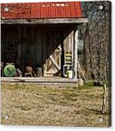 Mountain Cabin In Tennessee 3 Acrylic Print