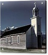 Mountain Church Acrylic Print