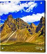 Mountain Crags Acrylic Print