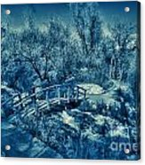 Mountain Creek Path-sundance Utah V2 Acrylic Print
